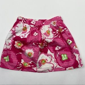 Lilly Pulitzer Whitley Hotty Pink Cherry Begonias